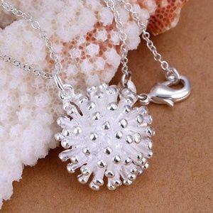 💝Jewelry Sale💝 Silver Starburst Necklace